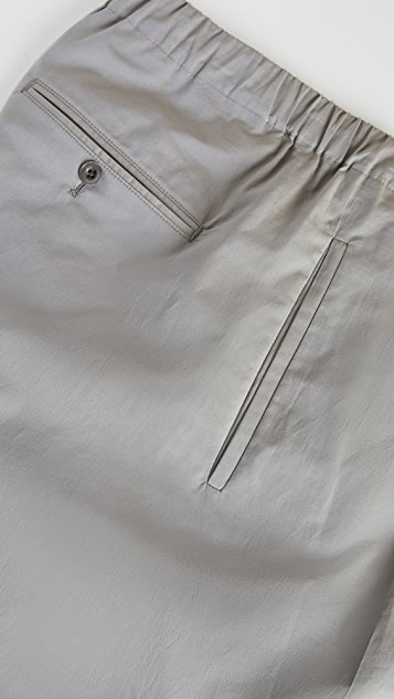 Lemaire Pleated Drawstring Pants