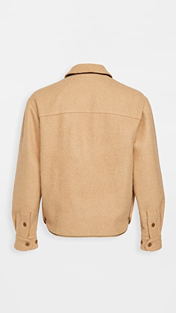 Lemaire Wool Alpaca Boxy Overshirt