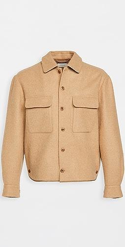 Lemaire - Wool Alpaca Boxy Overshirt