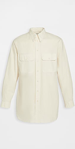 Lemaire - Heavy Cotton Ventile Military Shirt