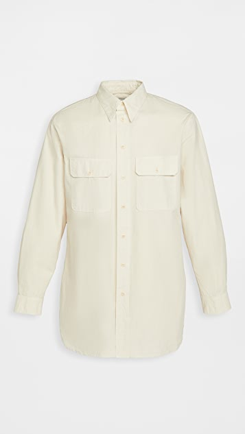 Lemaire Heavy Cotton Ventile Military Shirt