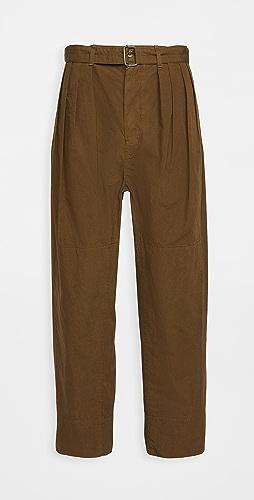 Lemaire - Cotton Ventile 4 Pleats Pants