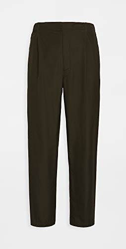 Lemaire - Cotton Poplin Pleated Drawstring Pants