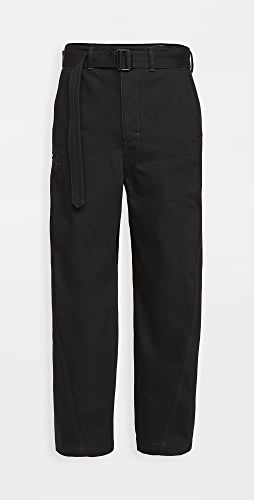 Lemaire - Heavy Denim Twisted Pants