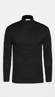 Lemaire Cotton Rib Turtleneck Shirt