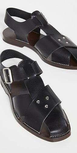 Lemaire - Strap Sandals