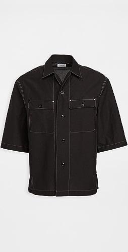 Lemaire - Short Sleeve Pajama Shirt