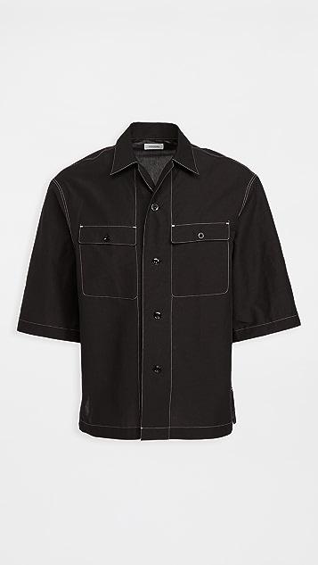 Lemaire Short Sleeve Pajama Shirt