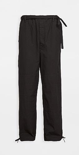 Lemaire - Drawstring Judo Pants