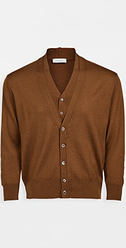 Lemaire - Knitted Double Collar Cardigan