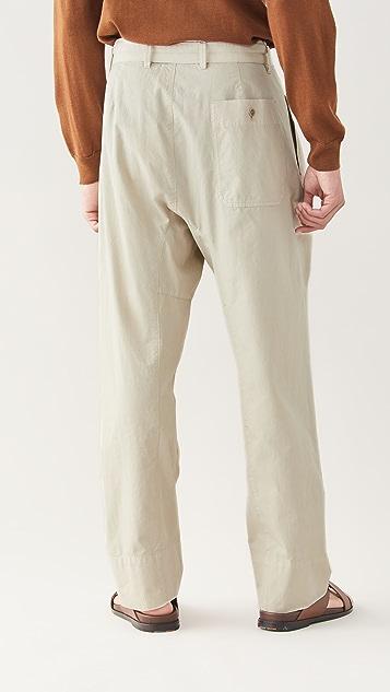 Lemaire 4 Pleats Pants
