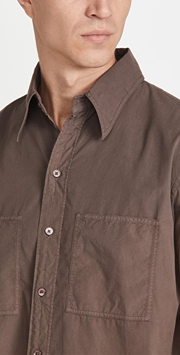 Lemaire Patch Pocket Shirt