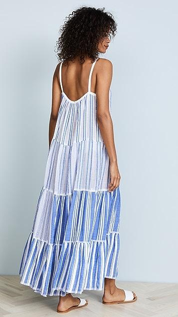 Lemlem Alfie Maxi Slip Dress