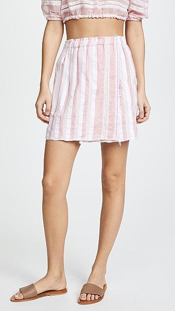 Lemlem Lulu Short Skirt