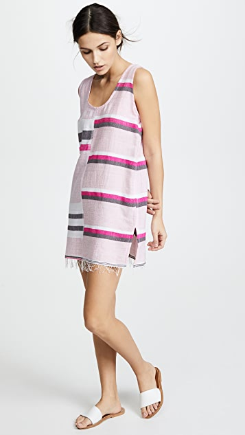 Lemlem Mimi Split Tank Dress
