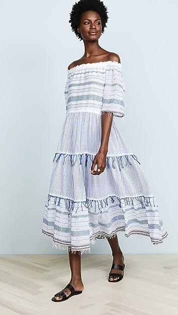 Lemlem Tiki Long Tier Dress