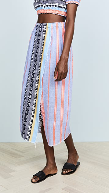 Lemlem Sofia Wrap Skirt