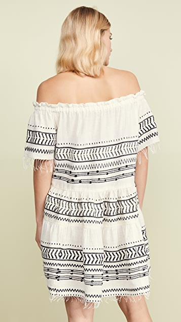 Lemlem Maya Off Shoulder Dress