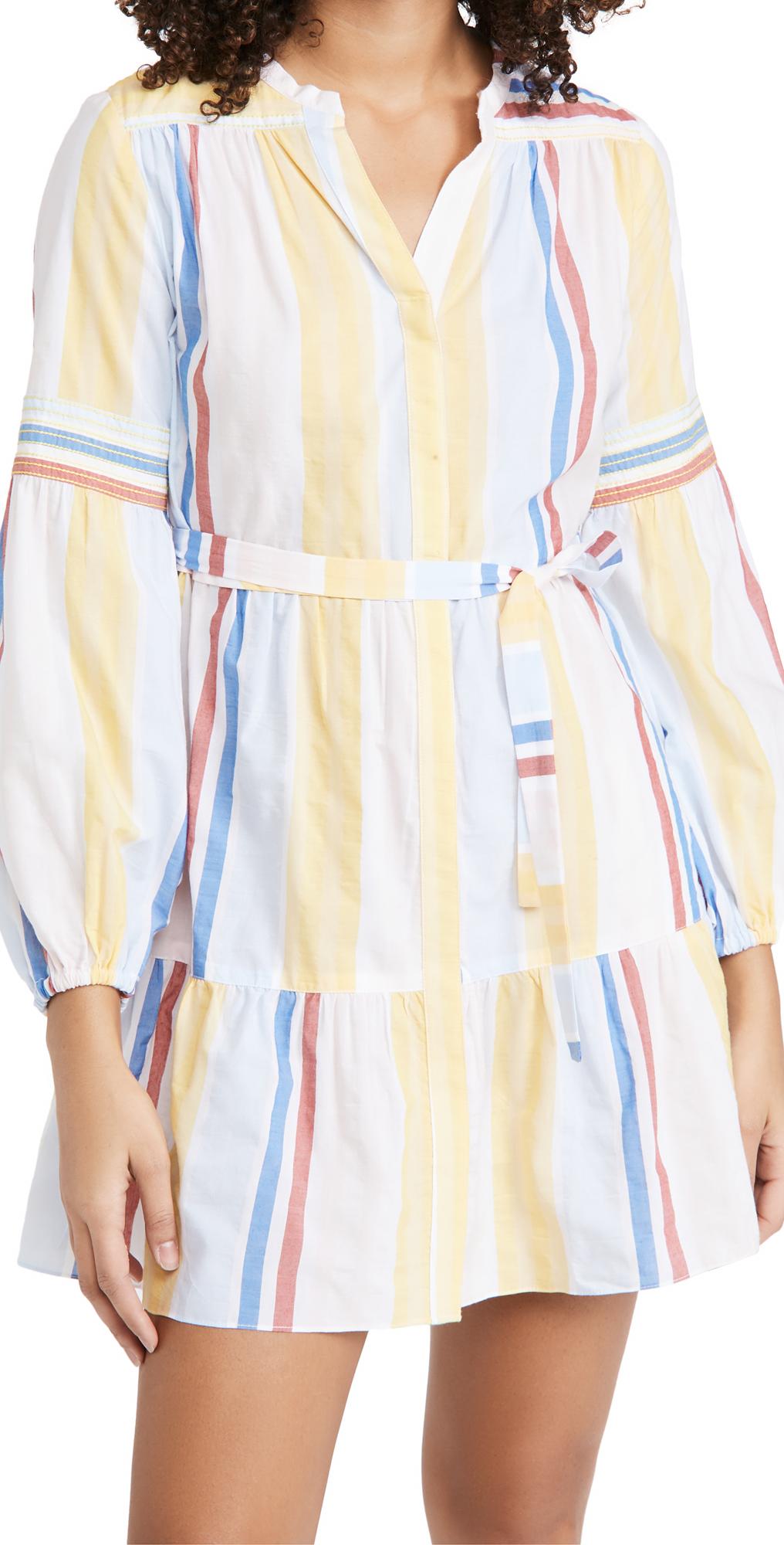 Lemlem Jima Mini Blouse Dress