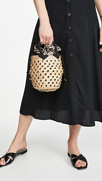 Le Nine Nina Leopard Bag