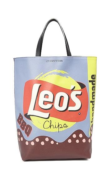 Leo Studio Design Chips Tote
