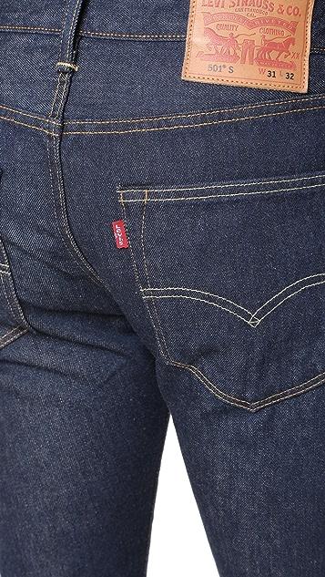 Levi's Red Tab Noten 501 Skinny Denim Jeans