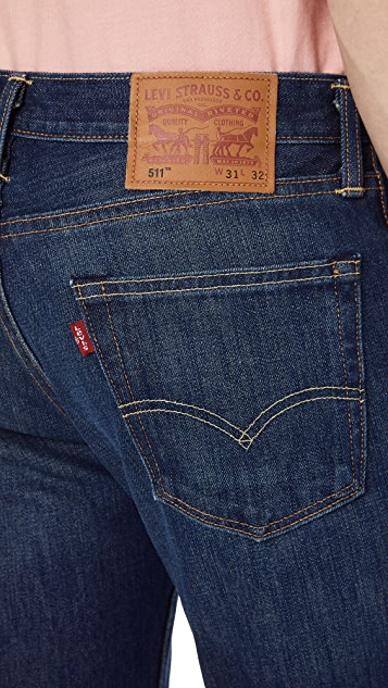 Levi's Red Tab Dark Authentic 511 Slim Jeans