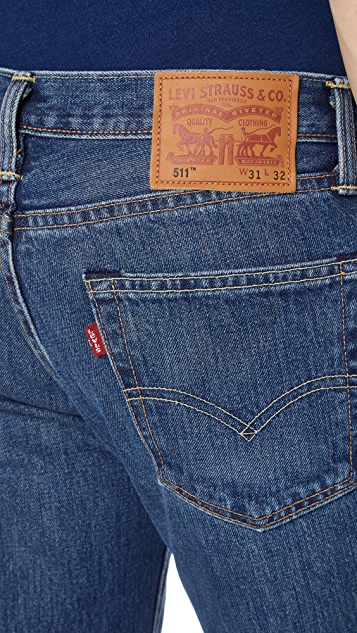 Levi's Red Tab Medium Authentic 511 Slim Jeans