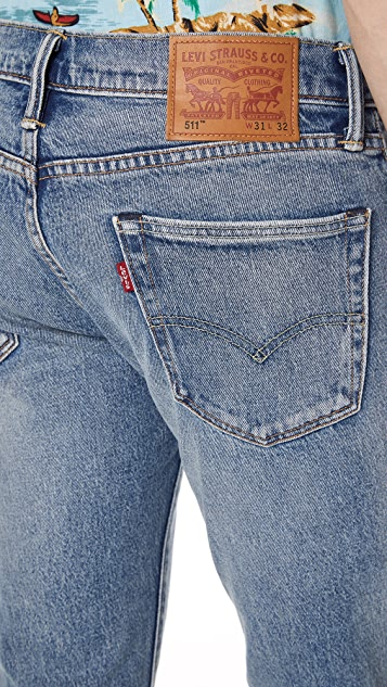 Levi's Red Tab Rolf 511 Slim Jeans