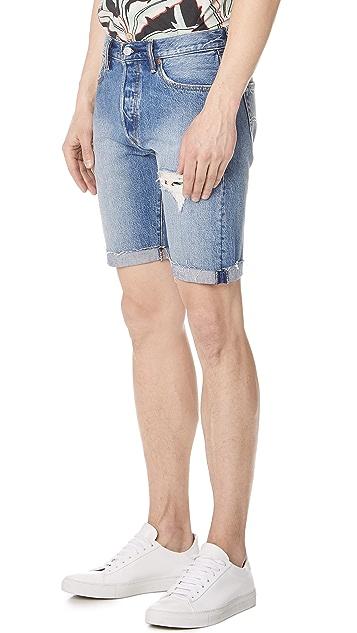 Levi's Red Tab Kauai 501 Cutoff Shorts