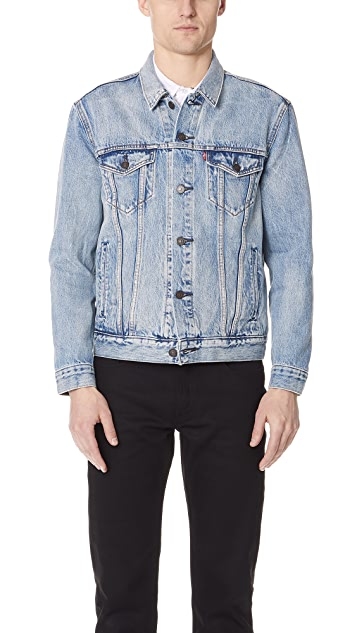 Levi's Red Tab Rolled Up Trucker Jacket