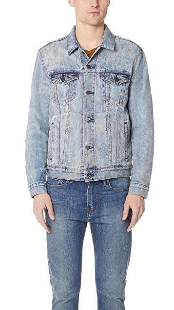 Levi's Red Tab Shadow Puzzle Trucker Jacket