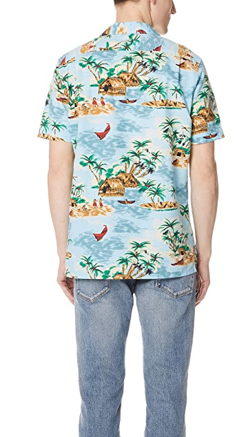 Levi's Red Tab Pelican Cameo Blue Shirt