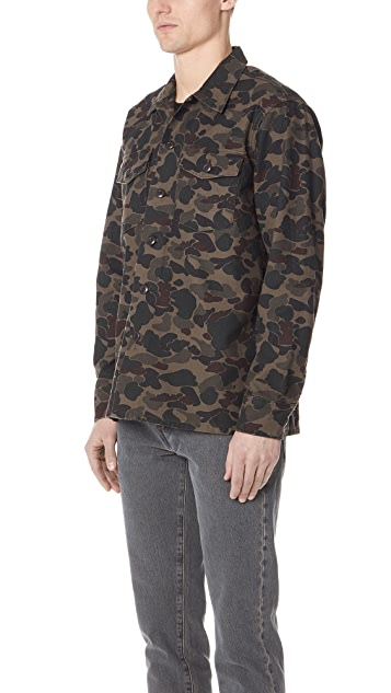 Levi's Red Tab Camo Military Shirt Jacket