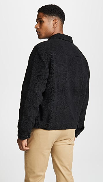 Levi's Red Tab Sherpa Face Trucker
