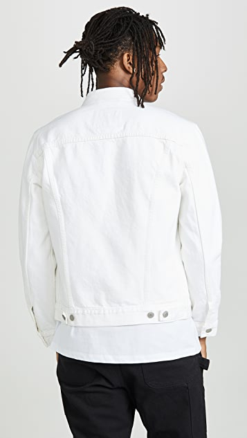 Levi's Red Tab White Denim Jacket