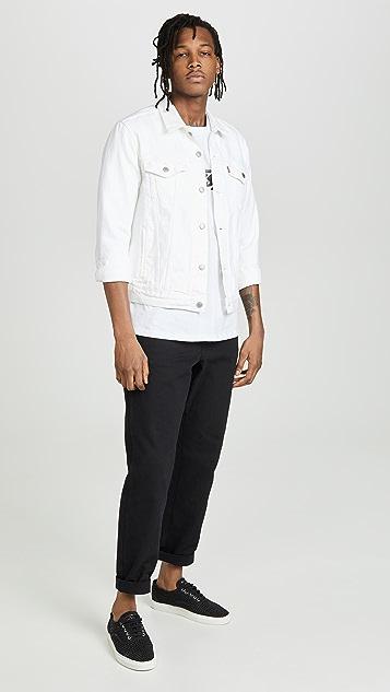 Levi's Red Tab White Denim Jacket