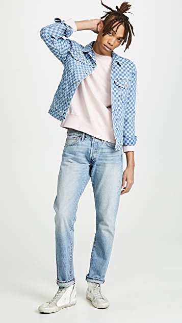 Levi's Red Tab Check Denim Jacket