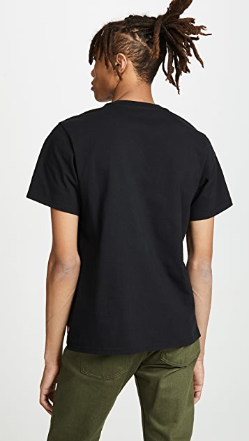 Levi's Red Tab Oversized Graphic Short Sleeve Tee Shirt