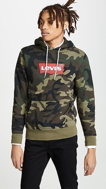 Levi's Red Tab Camo Logo Hoodie
