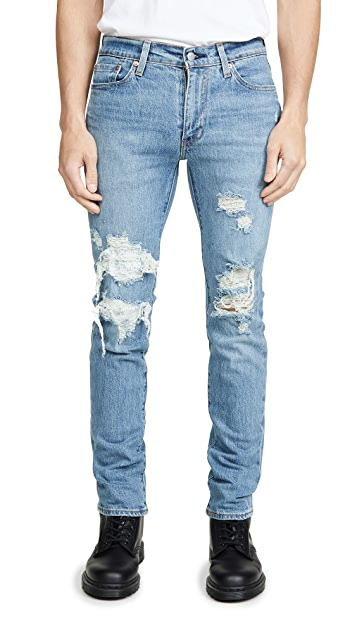 Levi's Red Tab 511™ Slim Denim in Fennel Print