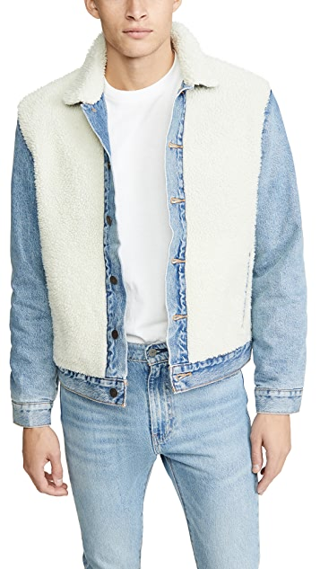 Levi's Red Tab Sherpa Panel Trucker Jacket