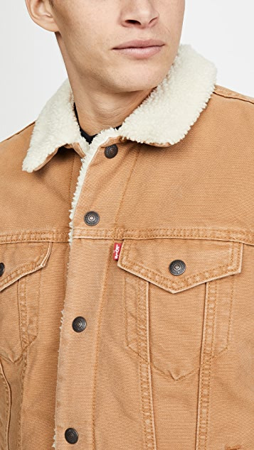Levi's Red Tab Type III Sherpa Trucker Jacket