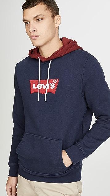 Levi's Red Tab Modern Housemark Hoodie