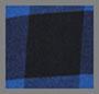 Sodalite Blue Plaid