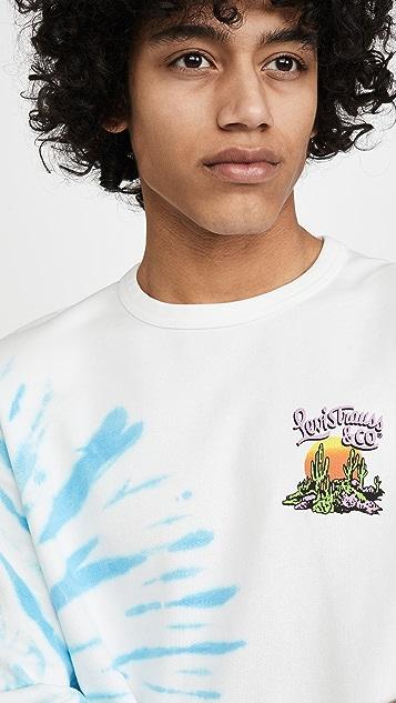 Levi's Red Tab Graphic Crew Neck Sweatshirt