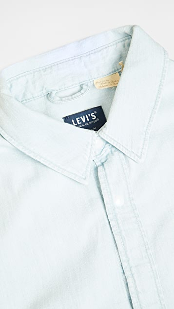 Levi's Red Tab Long Sleeve Mountain Over Shirt