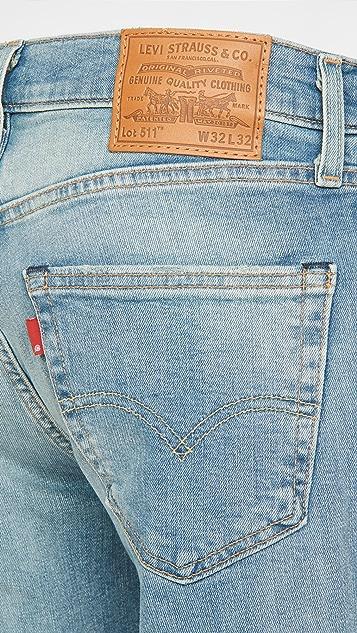 Levi's Red Tab 511 Slim Sun Bath - Levis® Flex Jeans