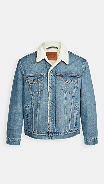 Levi's Red Tab Fable Sherpa Trucker Jacket