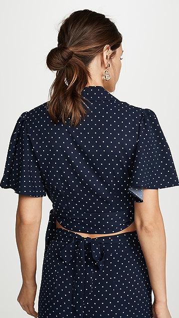 leRumi Audrey 女式衬衫
